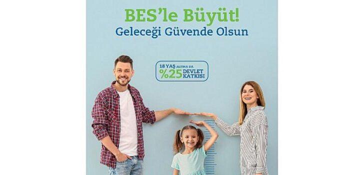 """Anadolu Hayat Emeklilik'in Yeni Ürünü """"Çocuğum için BES"""" ile 18 Yaşından Küçük Çocukların da Geleceği Güvence Altına Alınabilecek"""