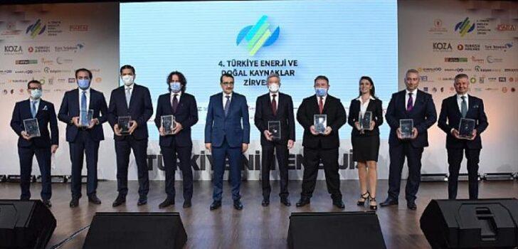 Biotrend Enerji, Türkiye Enerji ve Doğal Kaynaklar Zirvesi'nde Ödül Aldı!