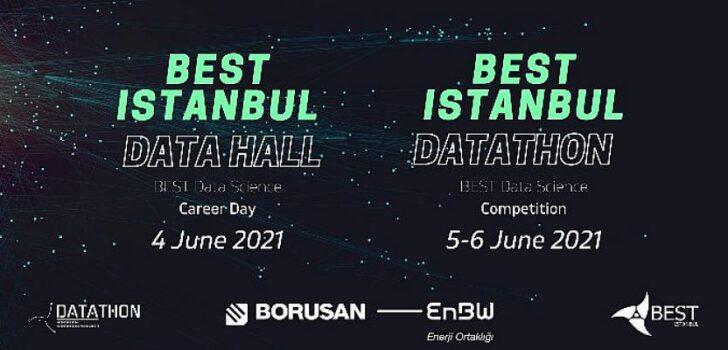 Borusan EnBW Enerji, İTÜ BEST İstanbul Data Hall ve Datathon'da öğrencilerle bir araya geldi