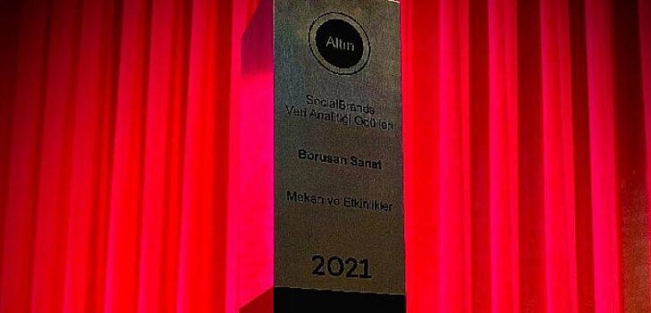 Borusan Sanat'a Social Media Awards Turkey 2021'den Altın Ödül