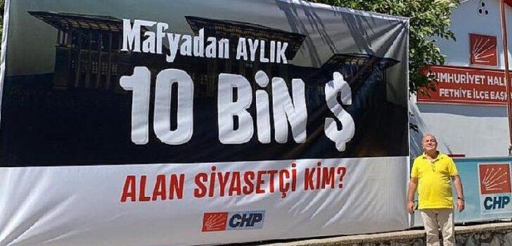 """CHP Fethiye İlçe Başkanı Demir: """"Mafya'dan Aylık 10 Bin Dolar Alan Siyasetçi Kim?"""""""