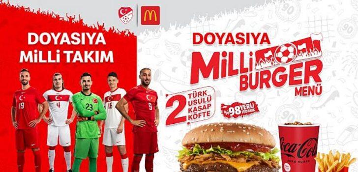 Euro 2020 heyecanı Milli Burger Menü'yle yaşanacak