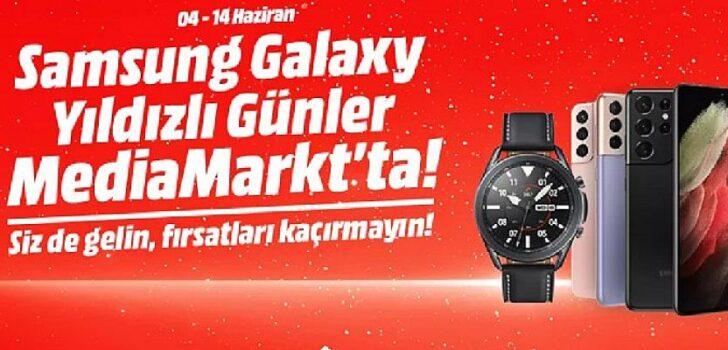 İndirimli Samsung Galaxy günleri MediaMarkt'ta başladı