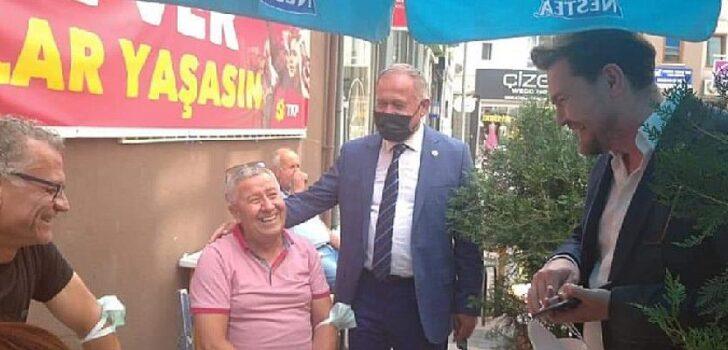 """İYİ Parti Çanakkale İl Başkanı Selahattin Yıldızlar, """"Esnafta iş yok, esnafa destek yok"""