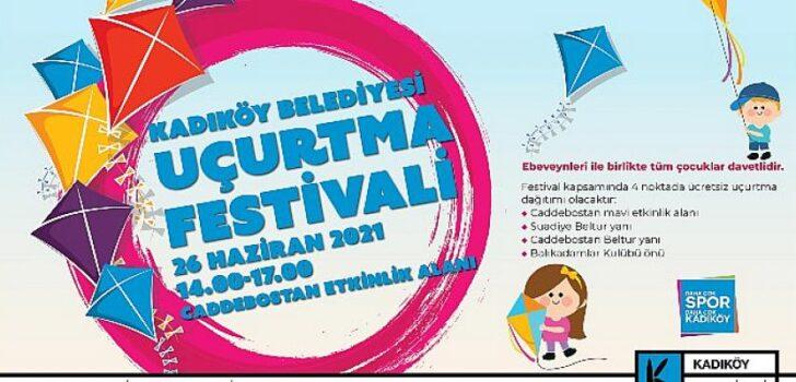 Kadıköy'de uçurtma festivali
