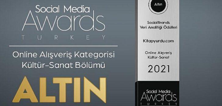 Kitapyurdu'nun Sosyal Medya Performansına Ödül
