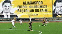 Lider Aliağaspor FK, İzmirspor'u Rahat Geçti