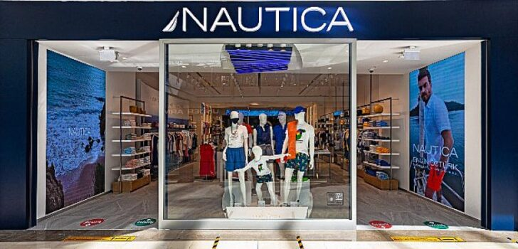 Nautica Avrupa'daki ilk flagship mağazası, İstinye Park AVM ziyaretçilerine yelken açtı