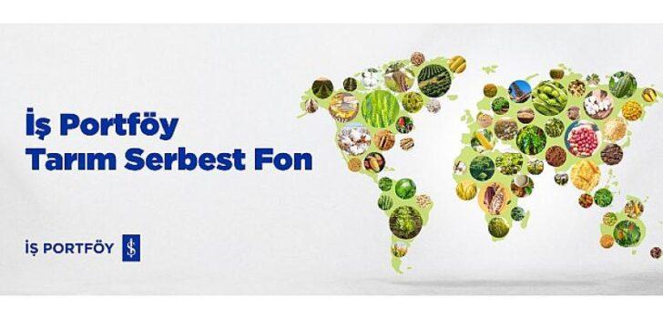 Tarım sektörüne yatırım temasına dayalı Türkiye'nin İlk ve Tek fonu yatırımcılara sunuldu.