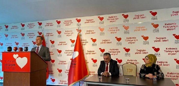 TDP Genel Başkanı Mustafa Sarıgül'den, MYK toplantısından önce basın açıklaması!