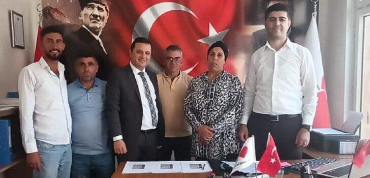 Türkiye Değişim Partisi (TDP) Kurucu Genel Sekreter Yardımcısı Av. Muzaffer Rıza Nerse, TDP Kilis İl Teşkilatını ziyaret etti.