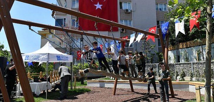 Üskadar'da yeni açılan parka Şehit Eren Bülbül'ün adı verildi