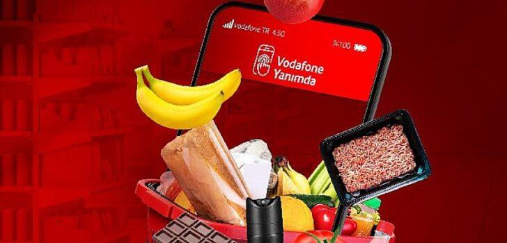 Vodafone'dan süpermarket müşterilerine mobil ödeme kolaylığı