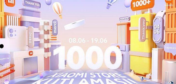 Xiaomi, dünya genelinde Mi Fanları ile 1.000'inci Xiaomi Mağazasını kutluyor Elif Dişli pre