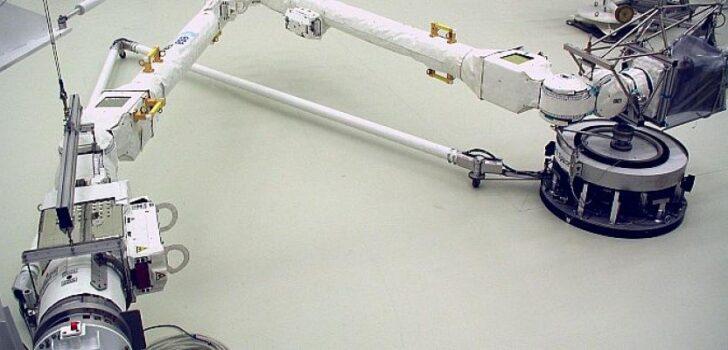 """Airbus'ın Avrupa Uzay Ajansı için inşa ettiği """"Robotik Kol"""" Uzaya Gitmeye Hazır"""