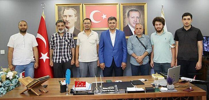 Akınspor'dan AK Parti'ye ziyaret
