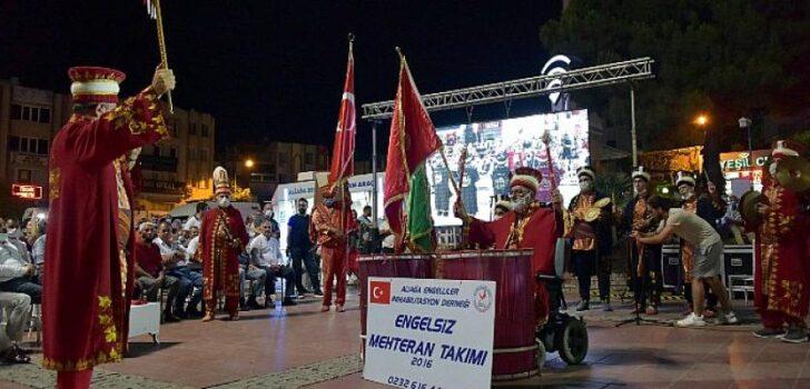 Aliağa'da '15 Temmuz Demokrasi ve Milli Birlik Günü' Programı Düzenlendi