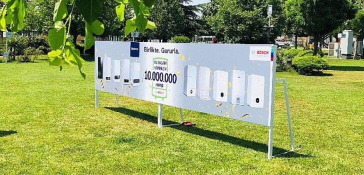 Bosch Termoteknoloji Manisa Fabrikası 10.000.000 kombi üreterek yeni bir rekora imza attı