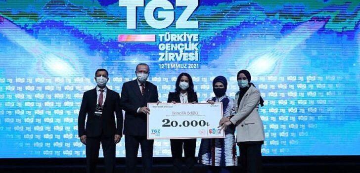 Bu yıl ikincisi düzenlenen Türkiye Gençlik Zirvesi Beştepe Kongre ve Kültür Merkezi'nde gerçekleşti