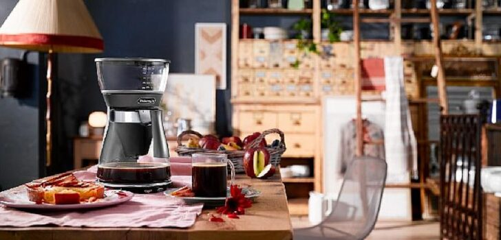 Damak zevkine uygun filtre kahve demleme yöntemleri De'Longhi Clessidra Filtre Kahve Makinesi'nde