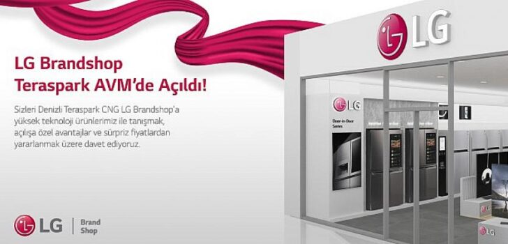 Denizli'nin İlk LG Mağazası Açıldı