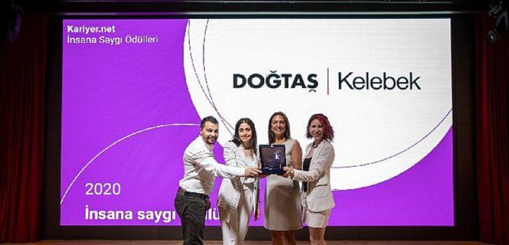 Doğanlar Holding Grup Şirketlerinden Doğtaş Kelebek, İnsana Saygı Ödülü'nü Aldı!
