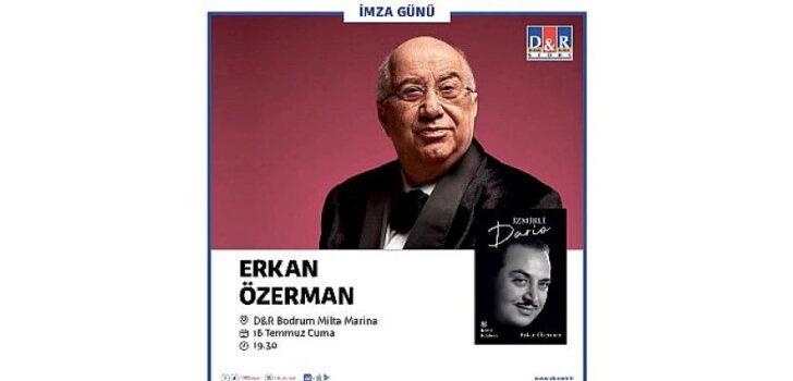Erkan Özerman D&R mağazalarında Bodrumlu kitapseverlerle buluşuyor