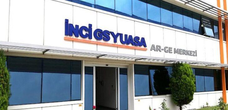 İnci GS Yuasa, AR-GE 250 Araştırması'nda AR-GE'ye en çok yatırım yapan akü firması