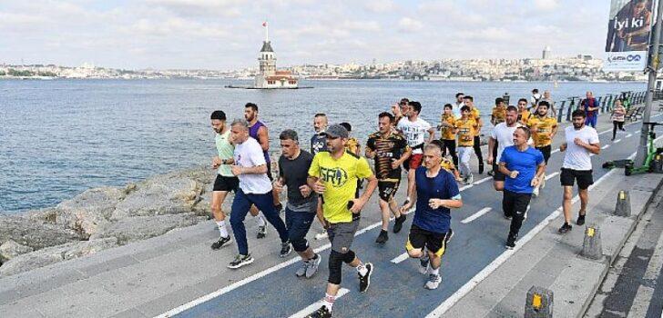 İstanbul'un en keyifli koşusu her Pazar Üsküdar'da