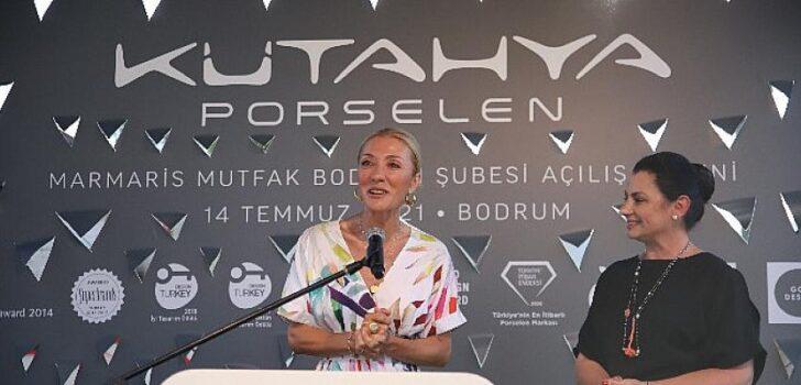 Kütahya Porselen yeni mağazasını Bodrum'da açtı