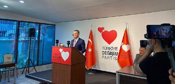 Türkiye Değişim Partisi Genel Başkanı Mustafa Sarıgül, Ankara'da Merkez Yürütme Kurulu Toplantısında basın açıklamasında bulundu.