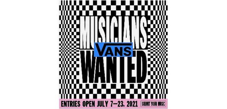 """Vans Avrupa'da Gerçekleşecek 2021 """"Musicians Wanted"""" Yarışmasının Başvurularını Almaya Başladı"""