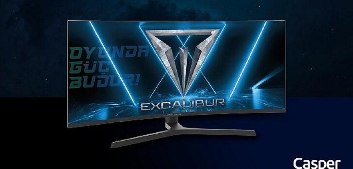 """Yeni Excalibur 34"""" monitör oyun oynamayı daha keyifli, çalışmayı daha verimli hale getiriyor"""