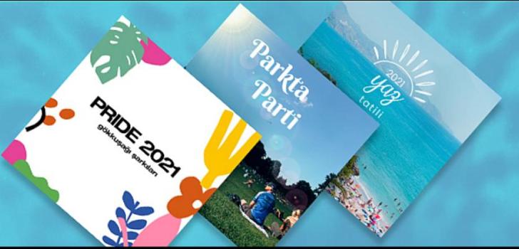 Yepyeni 3 çalma listesi: Gökkuşağı Şarkıları 2021, Parkta Parti ve Yaz Tatili 2021'in tadını çıkarın!