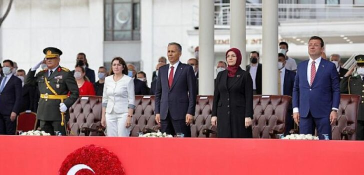 """Başkan İmamoğlu: """"Umarım Asırlık Cumhuriyetimize Layık Bir Nesil Oluruz"""""""