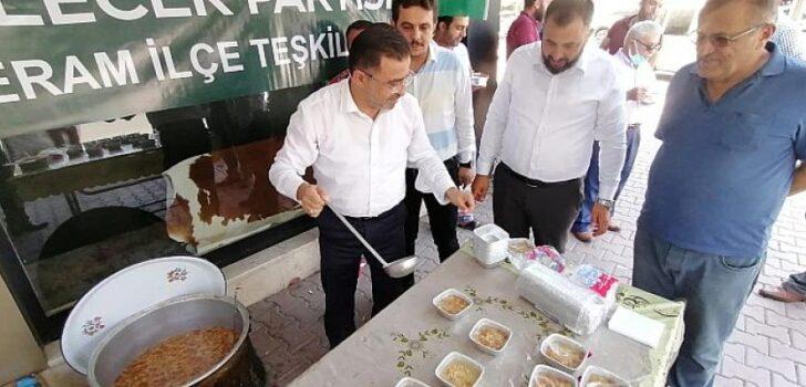 Gelecek Partisi Meram'dan Aşure Etkinliği