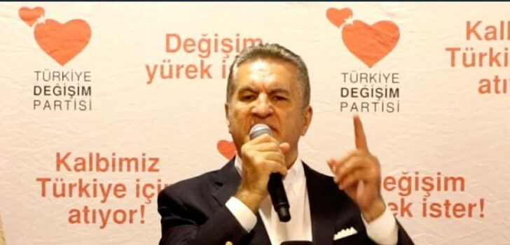 Türkiye Değişim Partisi Genel Başkanı Mustafa Sarıgül, Balıkesir 1.Olağan Kongresi'nde basın toplantısı düzenledi.