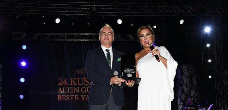 24. Altın Güvercin'i bestesi Suat Suna'ya ait olan 'Sevgilim' isimli parça ile Hande Kodamanoğlu kazandı
