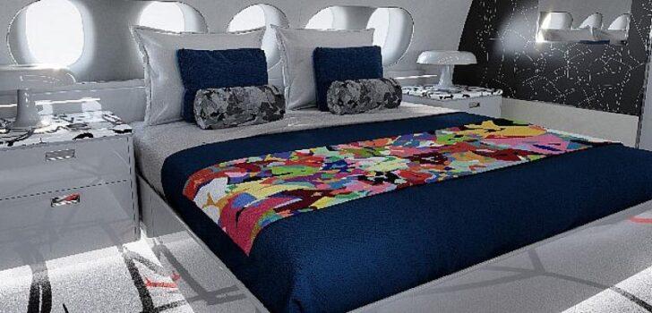 Airbus'tan Cyril Kongo ile çok özel bir iş jeti kabin tasarımı