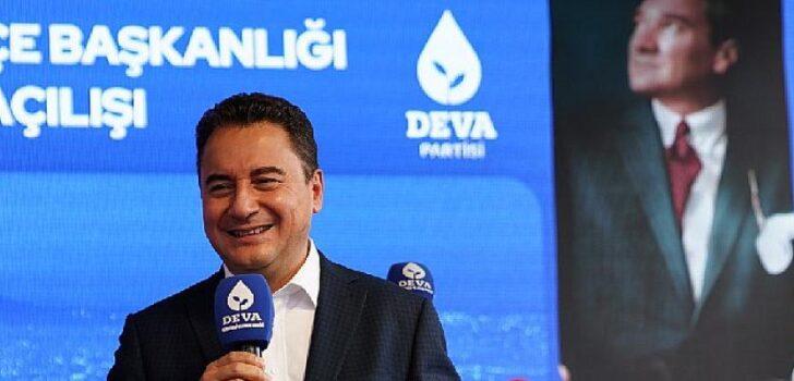 Ali Babacan: 'Bizim hayalimizde tam demokratik bir Türkiye var'