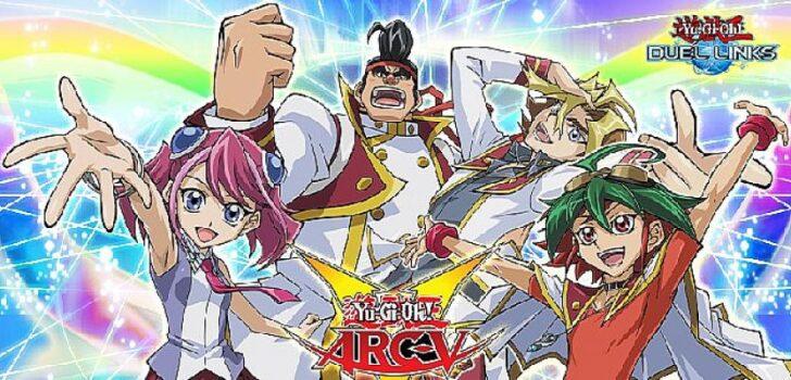 Arc-v, 28 Eylül'de YU-GI-OH! Duel Links'te