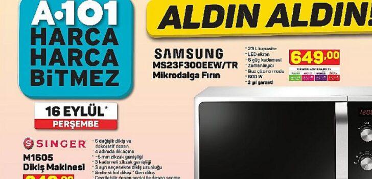 Birbirinden uygun fiyatlı teknolojik ürünler 16 Eylül haftası A101 Marketlerinde!