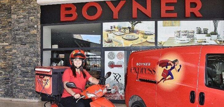 Boyner Express Bodrum 3 saat teslimat hedefiyle yola çıktı, siparişler ortalamada 1 saatte ulaştırıldı
