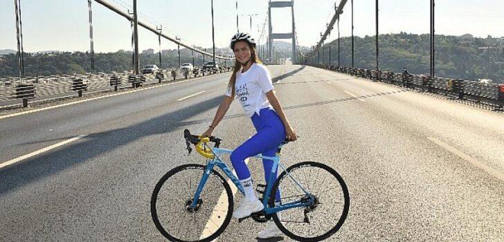 Ebru Şallı'dan Triatlon sporuna destek