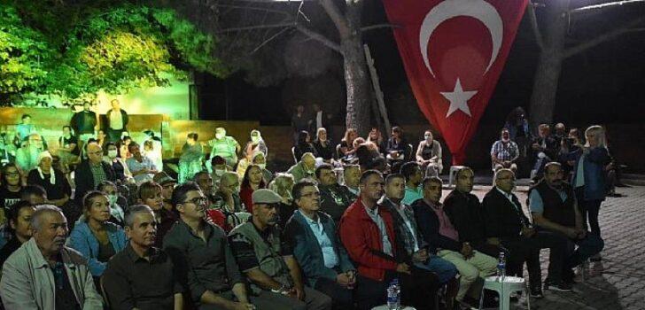 Edremit'te 13. Geleneksel Çamcı Köyü Güz Etkinliği yapıldı