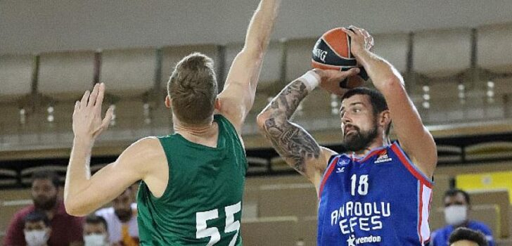 Gloria Cup 2021 Basketball Turnuva 2'nin şampiyonu Anadolu Efes
