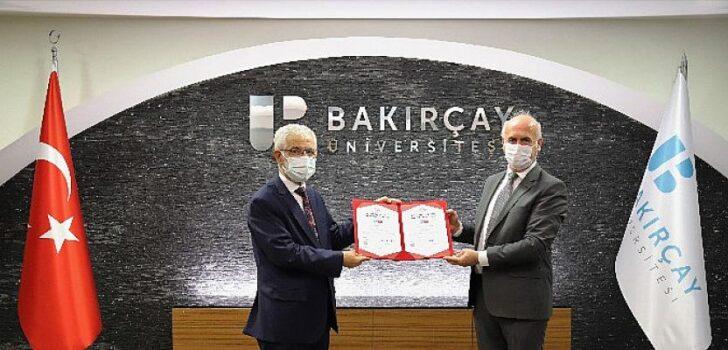 """""""İzmir Bakırçay Üniversitesi Sağlıklı ve Güvenli Kampüs Belgesi Aldı"""""""