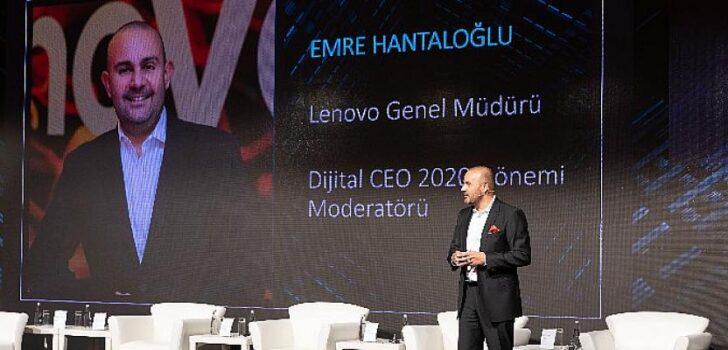 Lenovo, Vizyon 100 platformunun organizasyonu ile gerçekleştirilen 3. Dijital CEO Liderler Zirvesi'nde pandemi sonrası döneme rehberlik edecek teknoloji yatırımlarını açıkladı