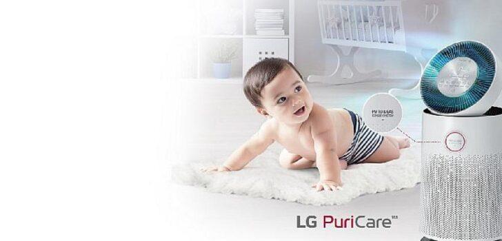 LG PuriCare ile Kapalı Ortamda Temiz ve Sağlıklı Hava