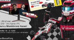 """LG Türkiye ile Ezber Bozan Yarış Heyecanı """"LG UltraGear E-GP"""" ile Devam Ediyor"""